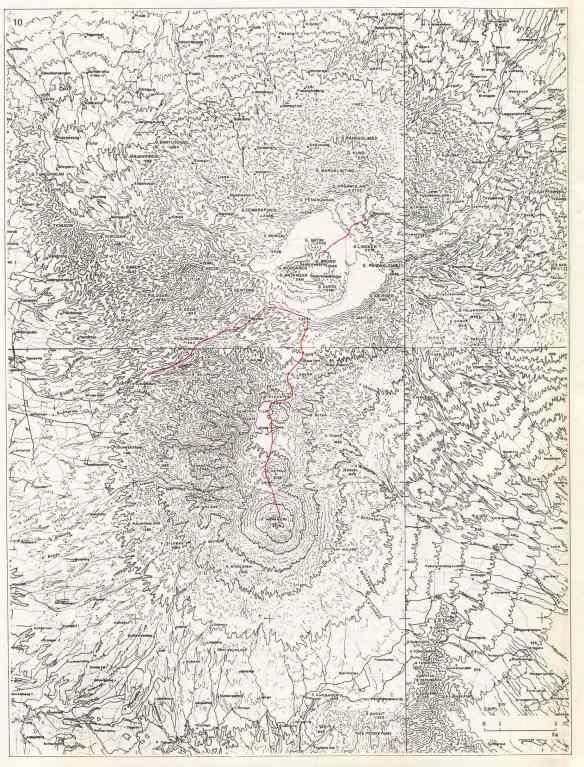 Bromo - Topografi